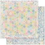 Bo Bunny - Prairie Chic Collection - 12 x 12 Double Sided Paper - Dot