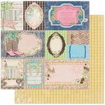 BoBunny - Prairie Chic Collection - 12 x 12 Double Sided Paper - Flea Market Finds