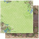 BoBunny - Prairie Chic Collection - 12 x 12 Double Sided Paper - Garden