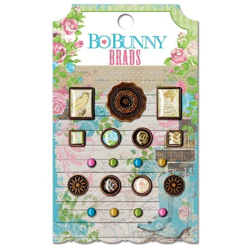 Bo Bunny - Prairie Chic Collection - Brads