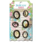 Bo Bunny - Prairie Chic Collection - Metal Embellishments - Trinkets