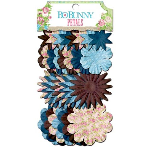 Bo Bunny - Prairie Chic Collection - Flower Embellishments - Petals