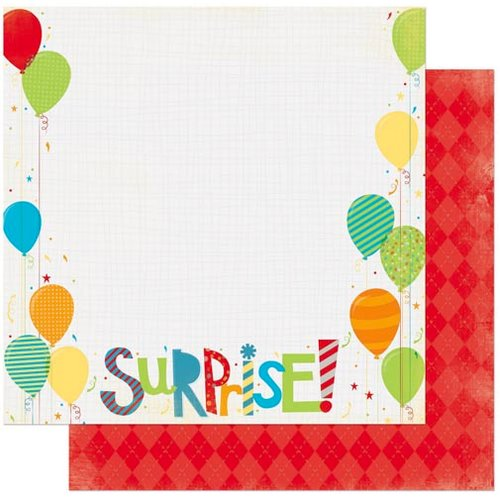 BoBunny - Surprise Collection - 12 x 12 Double Sided Paper - Surprise
