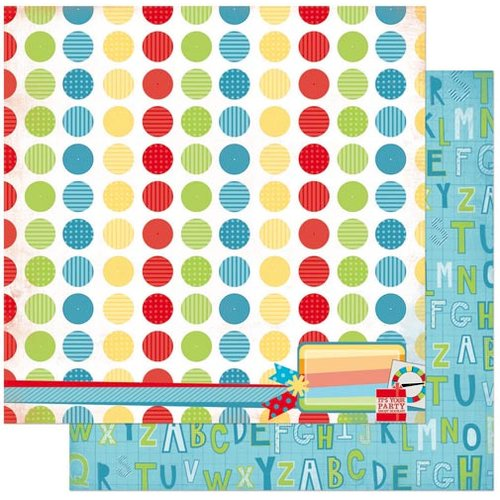 BoBunny - Surprise Collection - 12 x 12 Double Sided Paper - Dots