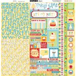 BoBunny - Surprise Collection - 12 x 12 Cardstock Stickers - Combo