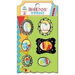 Bo Bunny Press - Surprise Collection - Metal Embellishments - Trinkets