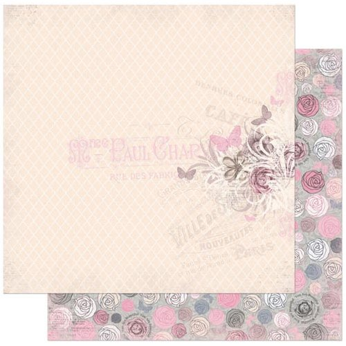 BoBunny - Isabella Collection - 12 x 12 Double Sided Paper - Divine