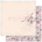 Bo Bunny - Isabella Collection - 12 x 12 Double Sided Paper - Divine