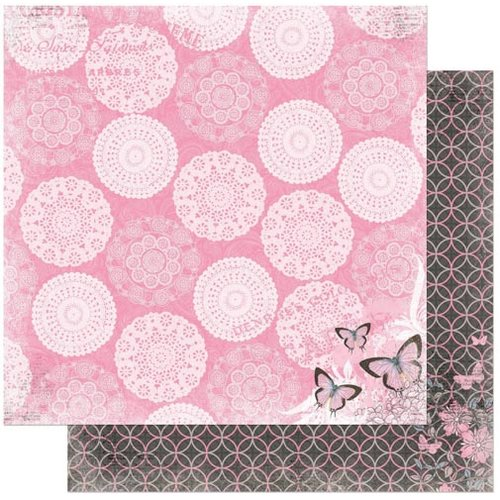 Bo Bunny - Isabella Collection - 12 x 12 Double Sided Paper - Eloquent