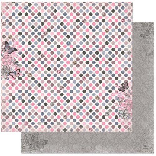 BoBunny - Isabella Collection - 12 x 12 Double Sided Paper - Savvy