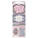 BoBunny - Isabella Collection - Cardstock Stickers - She's My Sister