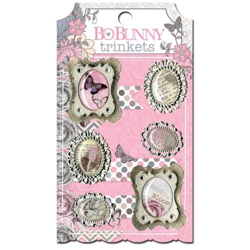 Bo Bunny - Isabella Collection - Metal Embellishments - Trinkets