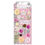 Bo Bunny Press - Isabella Collection - Buttons