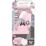 Bo Bunny - Isabella Collection - Noteworthy Journaling Cards