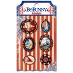 BoBunny - Anthem Collection - Metal Embellishments - Trinkets
