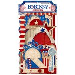 Bo Bunny - Anthem Collection - Note Worthy Journaling Cards