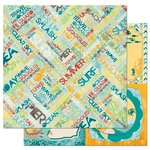BoBunny - Key Lime Collection - 12 x 12 Double Sided Paper - Summer Daze