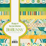 Bo Bunny - Key Lime Collection - 6 x 6 Paper Pad