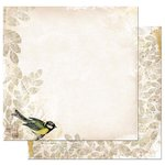 Bo Bunny - Trail Mix Collection - 12 x 12 Double Sided Paper - Field Journal