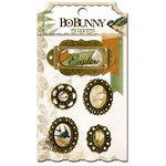 BoBunny - Trail Mix Collection - Metal Embellishments - Trinkets