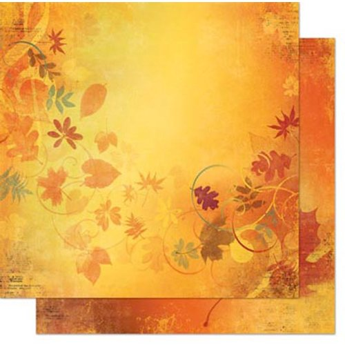 Bo Bunny - Autumn Song Collection - 12 x 12 Double Sided Paper - Autumn Song