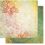 Bo Bunny - Autumn Song Collection - 12 x 12 Double Sided Paper - Duet
