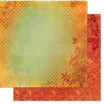 Bo Bunny - Autumn Song Collection - 12 x 12 Double Sided Paper - Harvest