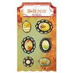 Bo Bunny - Autumn Song Collection - Metal Embellishments - Trinkets