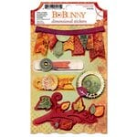 Bo Bunny - Autumn Song Collection - 3 Dimensional Stickers