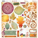 Bo Bunny - Autumn Song Collection - 12 x 12 Chipboard Stickers