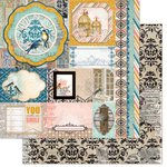 BoBunny - The Avenues Collection - 12 x 12 Double Sided Paper - Treasures