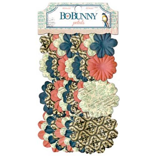 BoBunny - The Avenues Collection - Flower Embellishments - Petals
