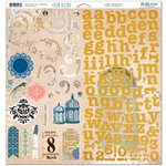 BoBunny - The Avenues Collection - 12 x 12 Chipboard Stickers