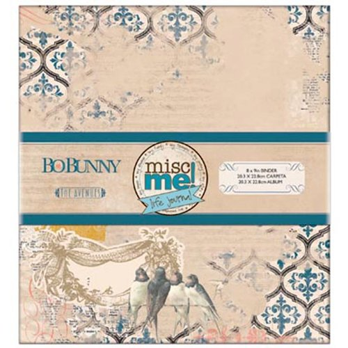 BoBunny - The Avenues Collection - Misc Me - Binder