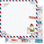 Bo Bunny - Elf Magic Collection - Christmas - 12 x 12 Double Sided Paper - Elf Magic