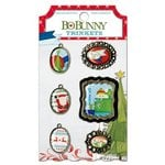 Bo Bunny - Elf Magic Collection - Christmas - Metal Embellishments - Trinkets