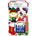 Bo Bunny - Elf Magic Collection - Christmas - 3 Dimensional Stickers