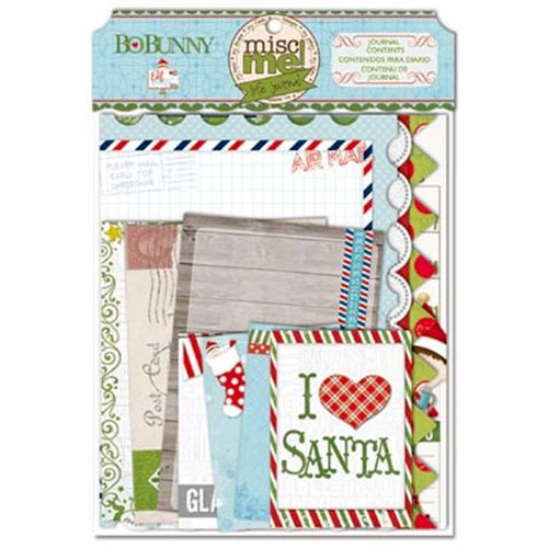 Bo Bunny - Elf Magic Collection - Misc Me - Journal Inserts