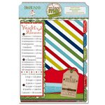 Bo Bunny - Elf Magic Collection - Misc Me - Recipe Divider Inserts