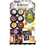 Bo Bunny - Fright Delight Collection - Halloween - 3 Dimensional Stickers