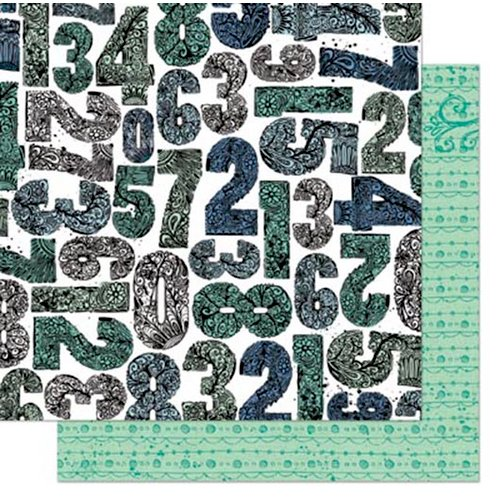 Bo Bunny - Zip-a-dee-doodle Collection - 12 x 12 Double Sided Paper - Creative
