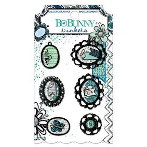 Bo Bunny - Zip-a-dee-doodle Collection - Metal Embellishments - Trinkets