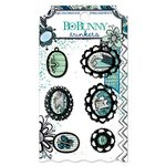 Bo Bunny - Zip-a-dee-doodle Collection - Metal Embellishments - Trinkets