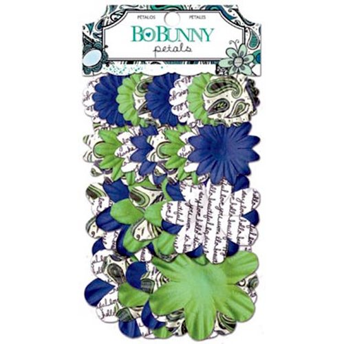 Bo Bunny - Zip-a-dee-doodle Collection - Flower Embellishments - Petals