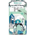 Bo Bunny - Zip-a-dee-doodle Collection - Noteworthy Journaling Cards