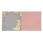 Bo Bunny - Baby Bump Collection - 12 x 12 Double Sided Paper - Baby Bump
