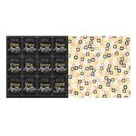 Bo Bunny - Baby Bump Collection - 12 x 12 Double Sided Paper - Bun in the Oven