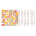 Bo Bunny - Baby Bump Collection - 12 x 12 Double Sided Paper - Sweet Dreams