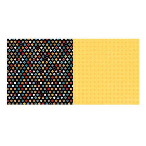 BoBunny - Happy Tails Collection - 12 x 12 Double Sided Paper - Spots