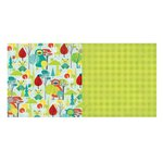 Bo Bunny - Our Lil Monster Collection - 12 x 12 Double Sided Paper - Our Lil Monster